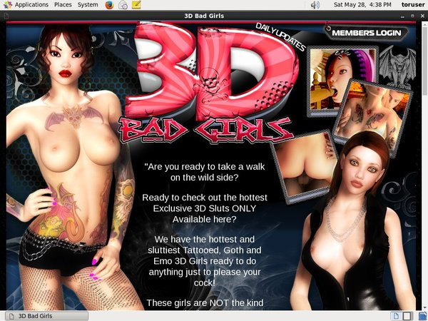 3D Bad Girls With EUDebit