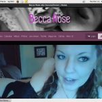 Becca Rose Recent