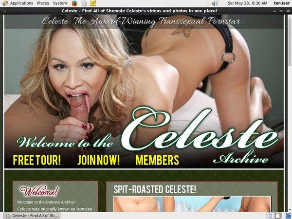 Celeste.premiumshemale.com Accont