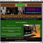 Corporal A.I. Signup