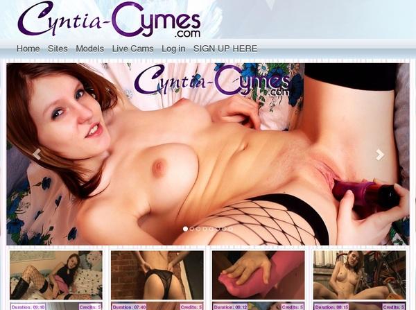 Cyntia-cymes.com Porn Site