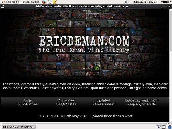 Ericdeman.com Model List
