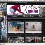 Flexy Karina Website Accounts