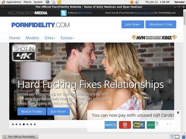 Free Pornfidelity Membership