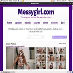 Messy Girl Paysite Passwords