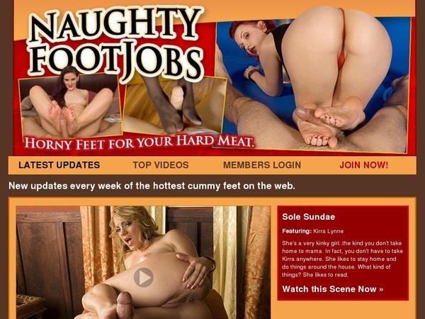 Naughtyfootjobs Foot Fucking
