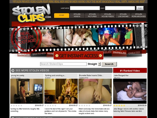 Stolenclips.com With AOL Account