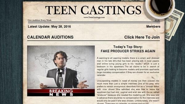 Teen Castings Gift Card