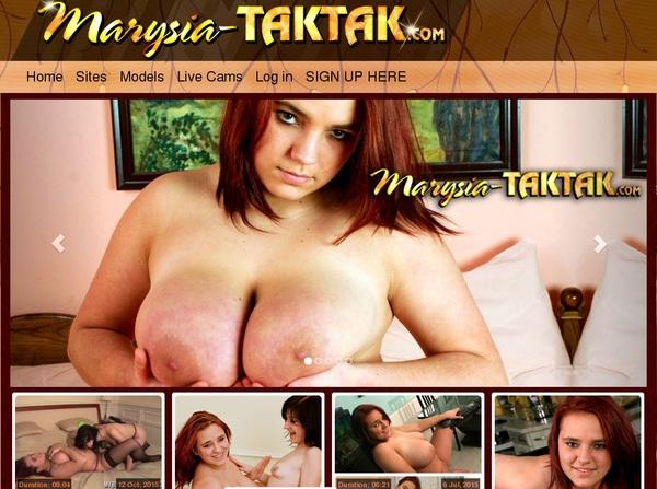 Xxx Marysia Taktak