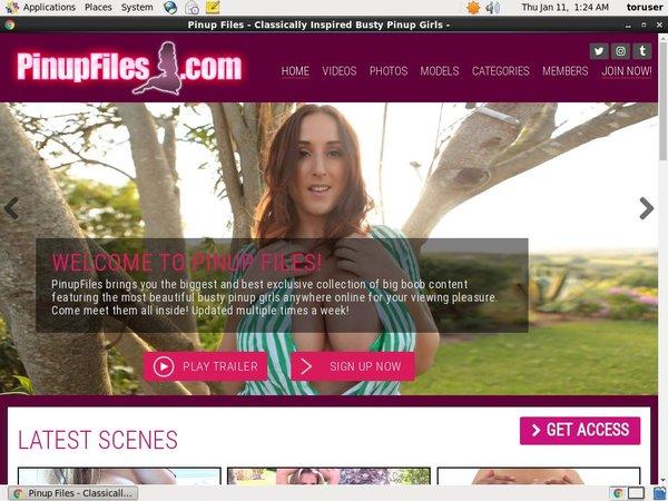 Pinupfiles.com Checkout Page