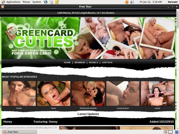 Greencardcuties Account Logins