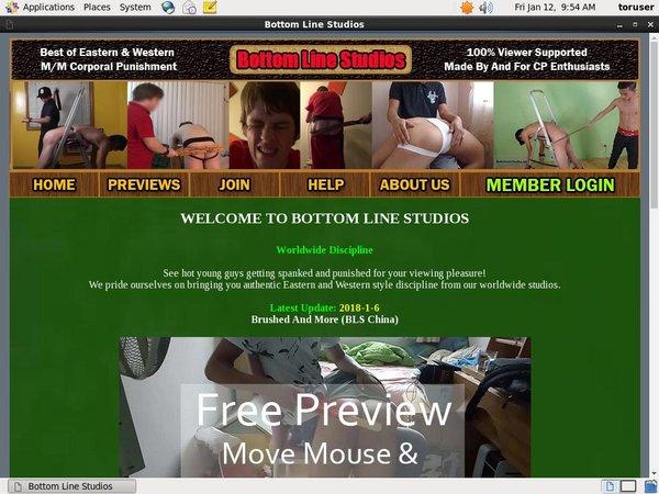Bottomlinestudios.net Website Password