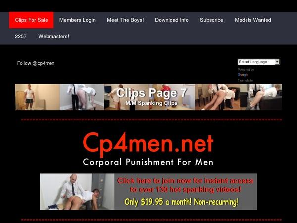 Cp4men Join By EU Debit
