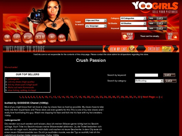 Crush Passion With IBAN / BIC