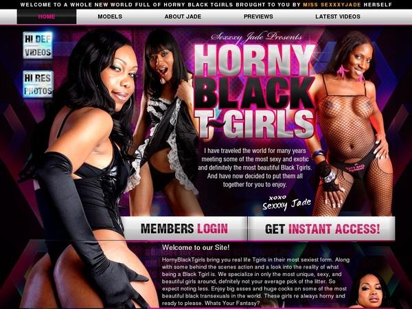 Free Hornyblacktgirls Logins