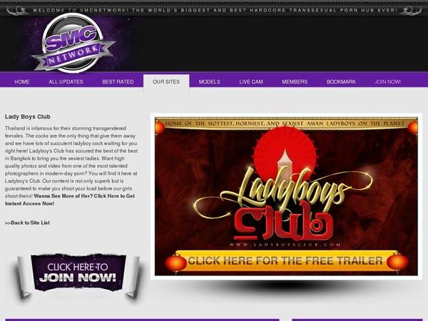 Ladyboysclub Login And Password