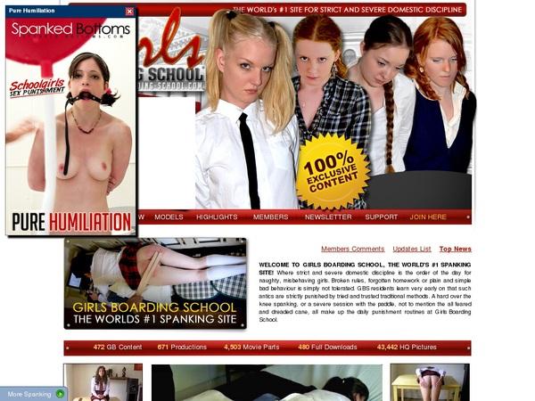 Girls-boarding-school.com Sign Up Form