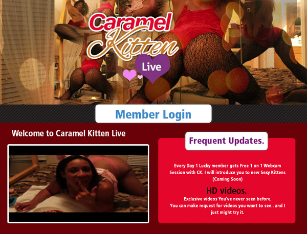 Caramelkittenlive.com Hacked Accounts