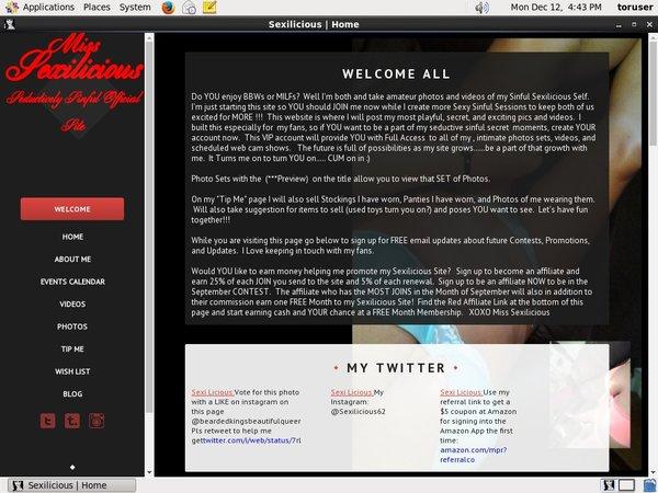 Sexilicious.modelcentro.com Password And Account